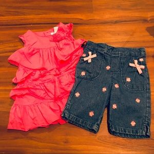 💕🌸👧🏼 Sweet Pink 12 month outfit 🌸💕🛍